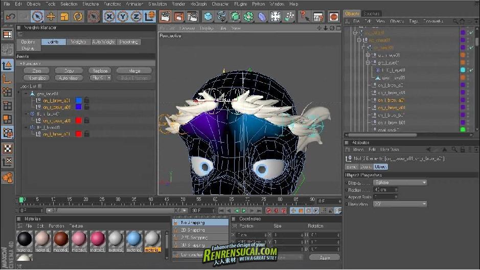 《C4D卡通角色动画高级教程》Digital-Tutors Rigging Cartoon Characters in CINEMA 4D