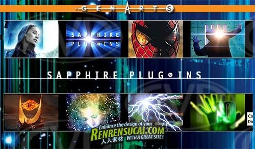 《蓝宝石AE插件6.01破解版》GenArts Sapphire Plug-ins v6.01 for After Effects