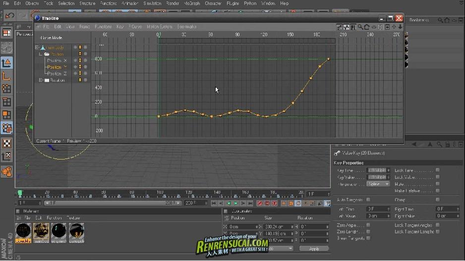 《CINEMA 4D R12基础动画训练教程》Digital-Tutors Introduction to Animation in CINEMA 4D