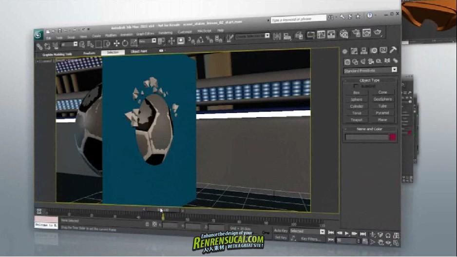 《3dsMax与AE结合制作电视片头包装高级教程》Digital-Tutors 3ds Max for Motion Graphics