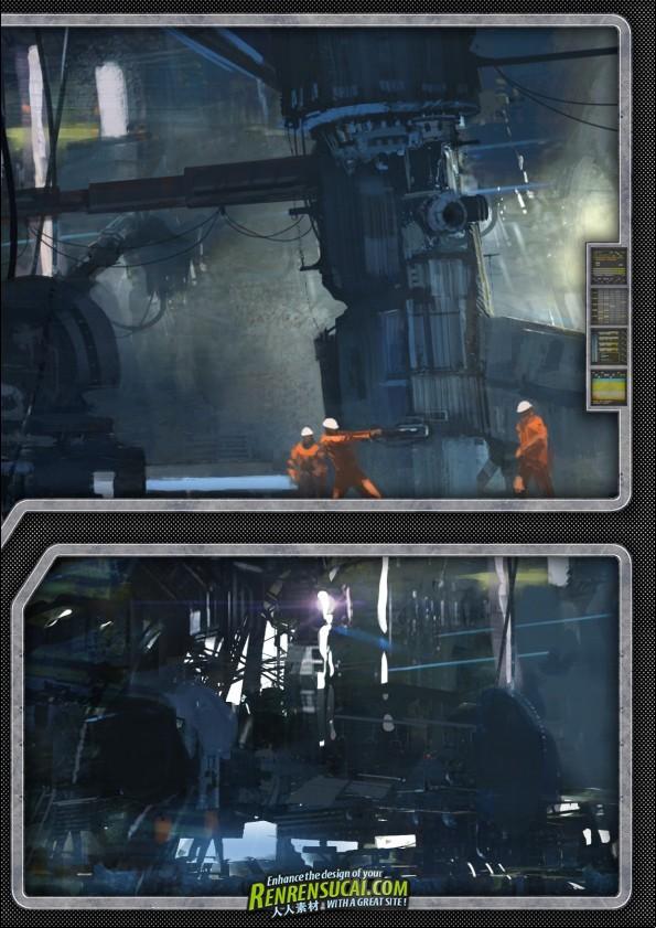 《游戏概念艺术2011年刊》3Dtotal.com Ltd. 3Dtotal's Concept Art for Games 2011