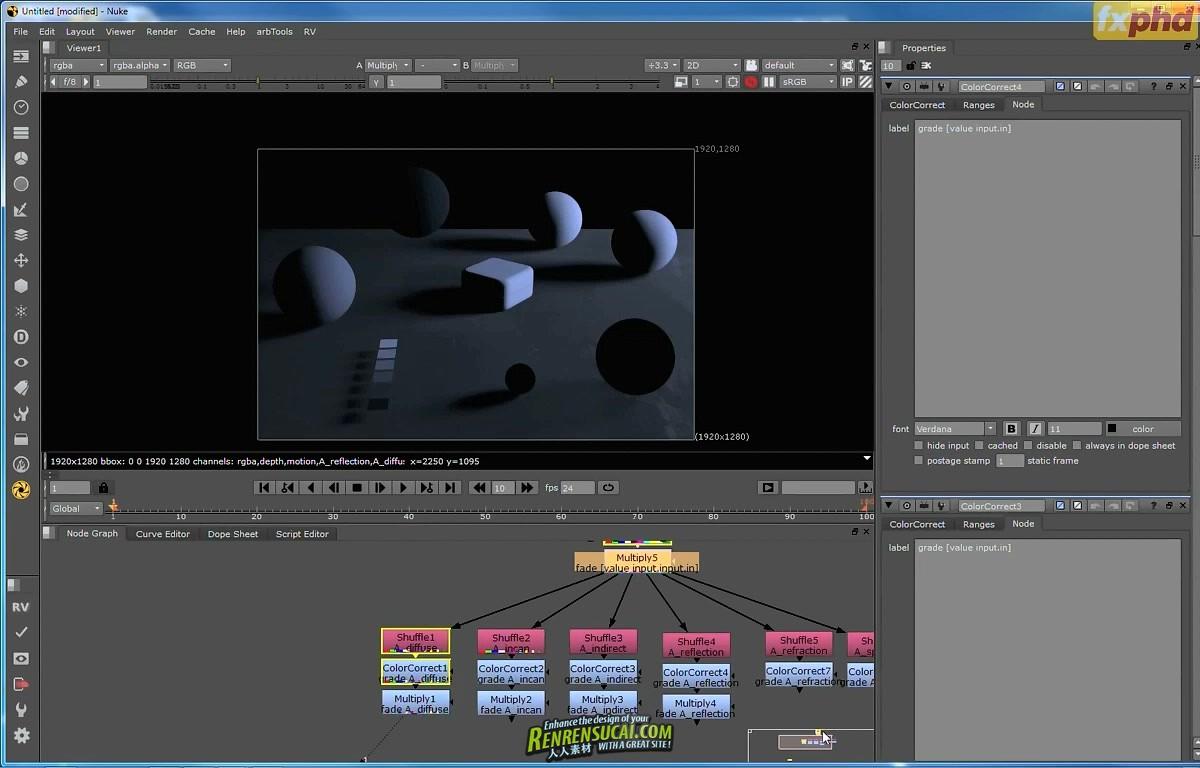 《Nuke影视特效合成大师班高级教程》FXPHD NUK305 Project Masterclass The Machine
