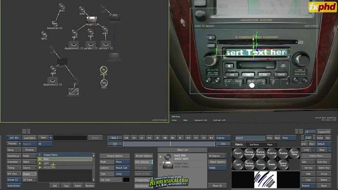 《Smoke与Flame影视后期特效合成高级教程》FXPHD SMK205 Intermediate Smoke/Flame IV