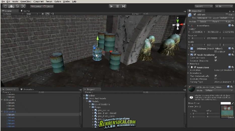 《Unity手机游戏开发关卡设计》Digital-Tutors Unity Mobile Game Development Level Design