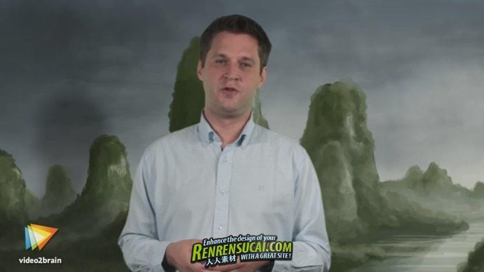 《Photoshop数字概念油画制作高级教程》video2brain Concept Painting mit Photoshop