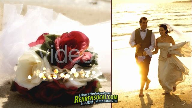 《婚纱影楼电影化板式与调色预设 AE片头包装模板》Videohive wedding studio 843476 Project for After Effects