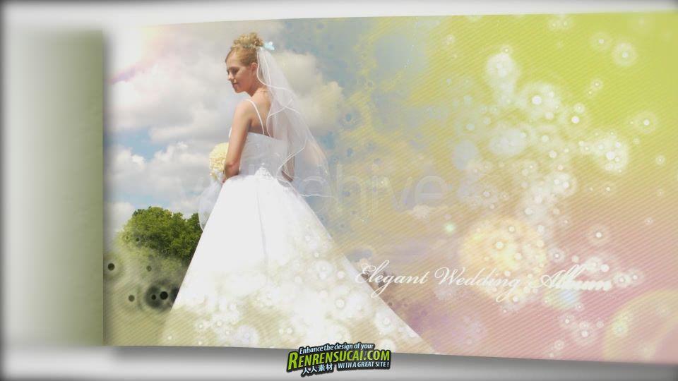 《浪漫爱情婚纱相册 AE包装模板》Videohive wedding photo album and slideshow ii 1042762 After Effects Project