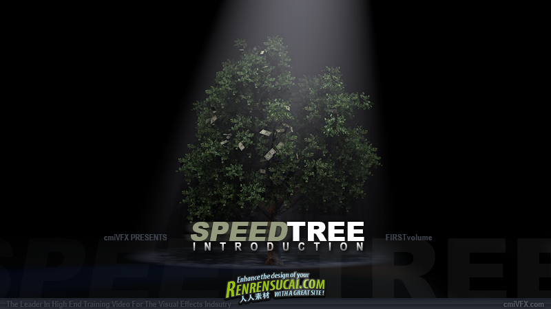 《SpeedTree入门教学-阿凡达中树木制作工具》cmiVFX SpeedTree Introduction