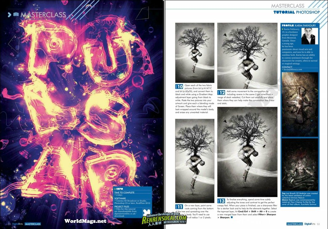 《Photoshop用户杂志2012年3月刊》Photoshop User March 2012