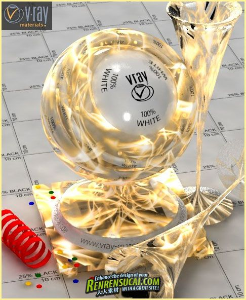 《VRay材质经典合辑》Platinum Collection VRay for 3Ds Max, Cinema4D, MentalRay