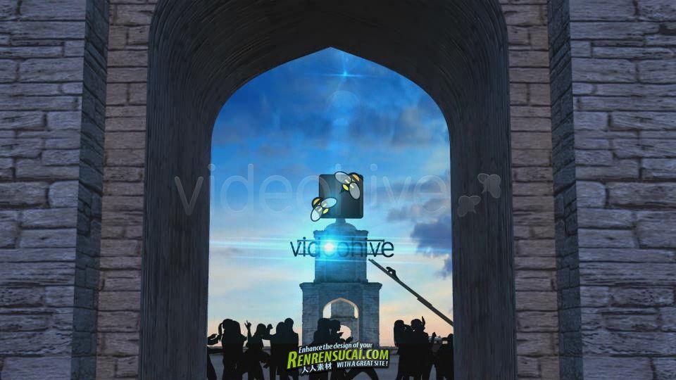 《壮观城堡Logo揭示 AE包装模板》VideoHive Opening Large Logo 758775 Project for After Effects