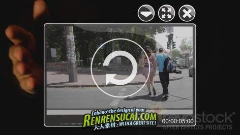 《广告点击风格 AE包装模板》Revostock Advert Style VIDEO 159435 After Effects Project