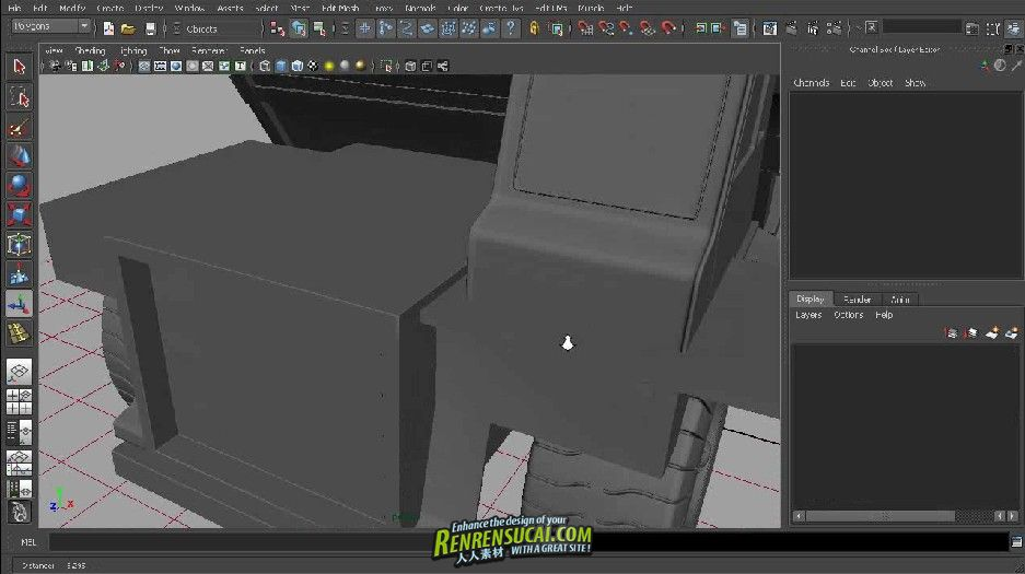 《变形机器人制作流程之卡车建模》Digital - Tutors Transforming Robot Production Pipeline Volume 2: Truck Modeling