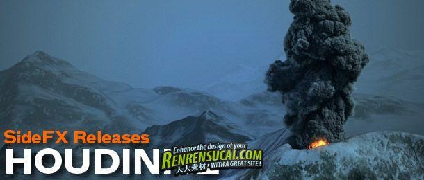 《电影视觉特效魔术师Houdini v12破解版全系列》Houdini v12.0 Win/Mac/Linux XFORCE