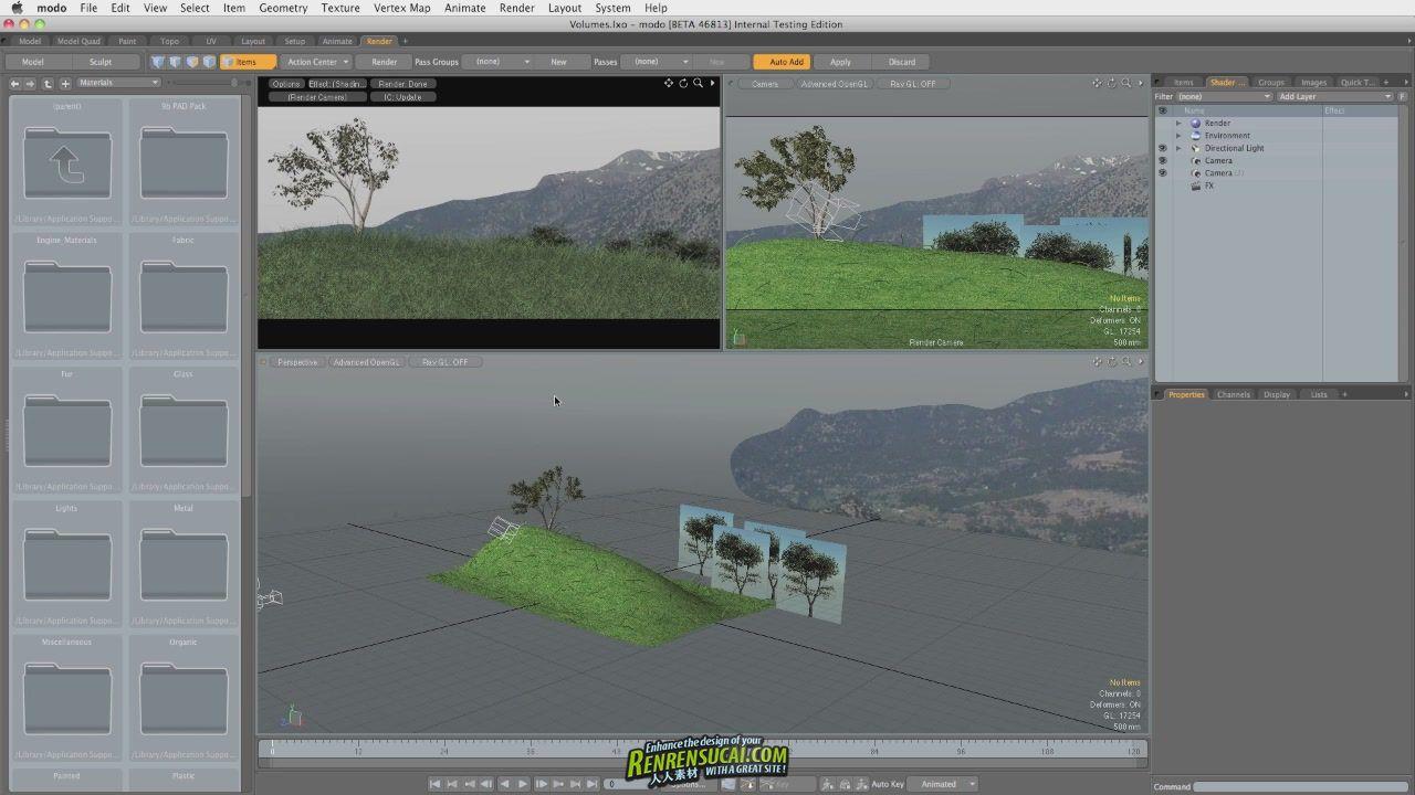 《Modo 601灯光精品教程》Spotlight Training Videos for modo 601