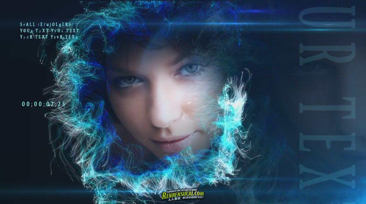 《环形粒子相册 AE包装模板》Fashion Nebula After Effects Project