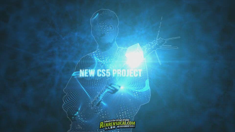《触摸立方体 AE包装模板》VideoHive Cube Touch Style 941104 Project for After Effects
