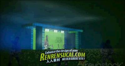 《演唱会 AE包装模板》Revostock Live In Concert 112364 After Effects Project