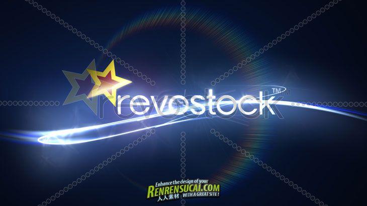 《闪亮Logo AE模板》RevoStock End Logo Animation 86014