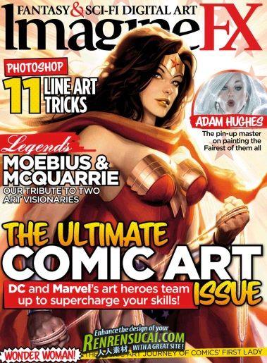《科幻数字艺术杂志 2012年5月刊》ImagineFX May 2012