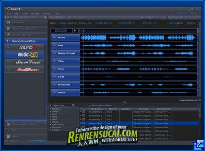 《Juicer3 DJ素材调用工具3.89a win》Juicer 3.89a Build 172 Windows
