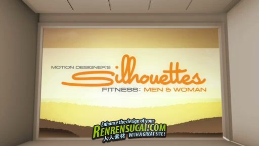 《DJ体育运动剪影视频素材-健身女士》Digital Juice Motion Designer's Silhouettes Fitness Women