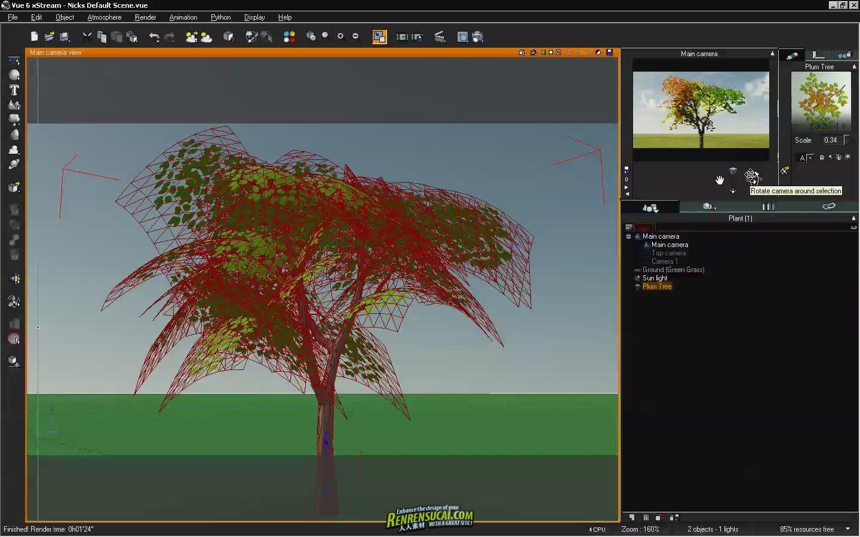 《Vue高级植物制作教程》Asilefx Advanced Custom Plant Creation 2