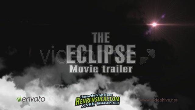 《新版电影预告片 AE模板》Videohive The Eclipse Movie Trailer 111865 After Effects Project