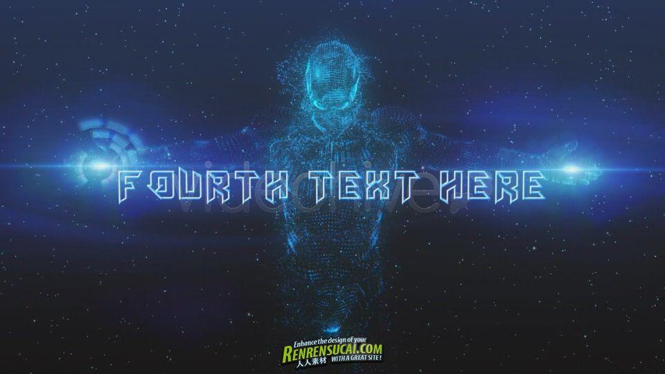 《震撼粒子机器人 AE模板》Videohive Holographic Presentation 631936 After Effects Project