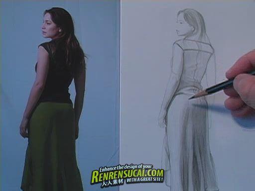 《服装面料绘画教程》How To Draw Fabric A Layered Approach by Matthew Archambault