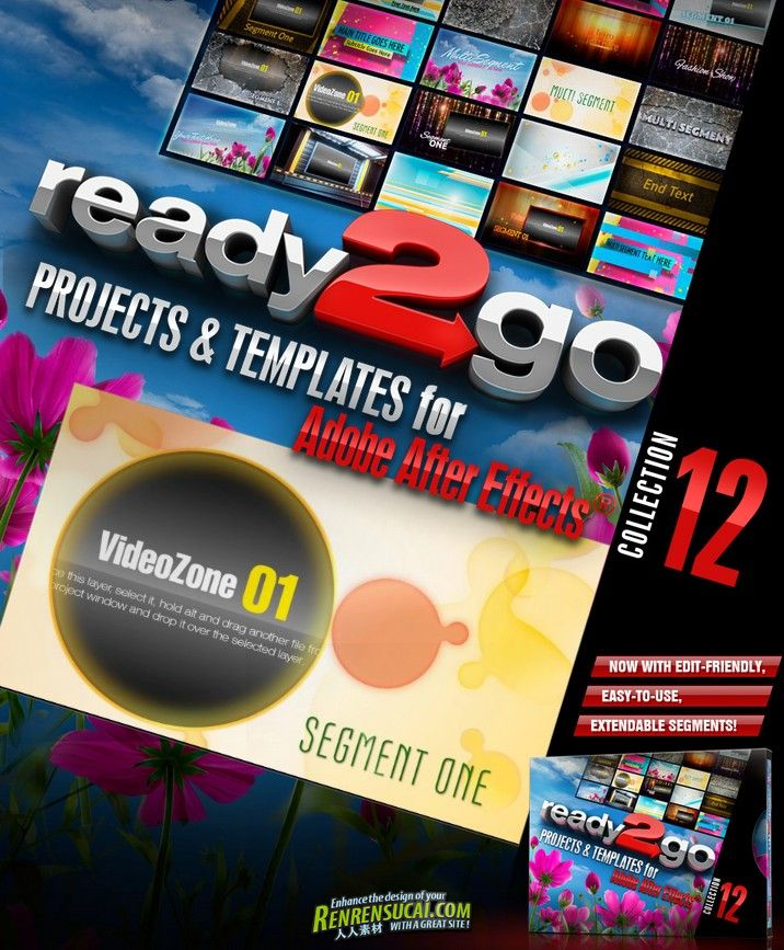 《DJ最强AE模板合辑Vol.12》Digital Juice Ready2Go Collection 12 for After Effects