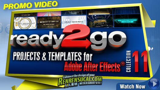 《DJ最强AE模板合辑Vol.11》Digital Juice Ready2Go Collection 11 for After Effects