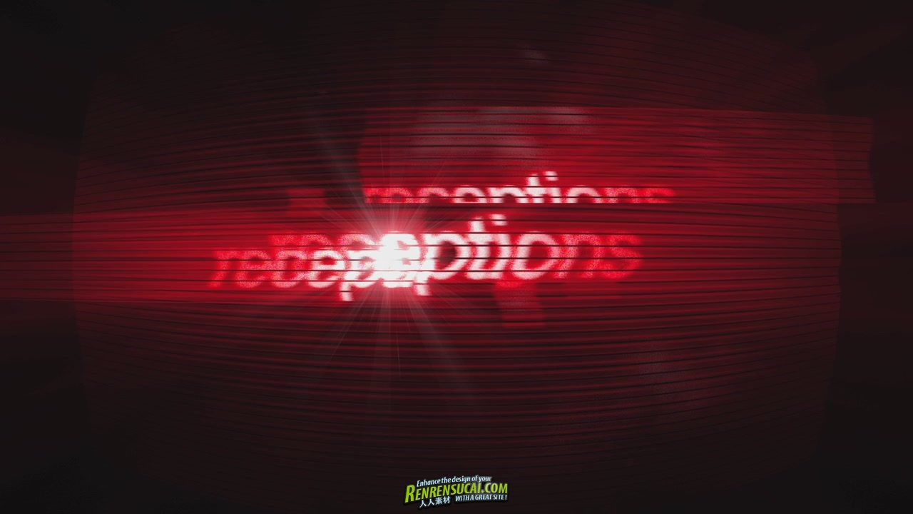 《超炫闪烁设计板式 AE摸》DropDrop Receptions After Effects Project