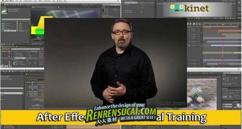 《After Effects CS6基础训练教程》Lynda.com After Effects CS6 Essential Training