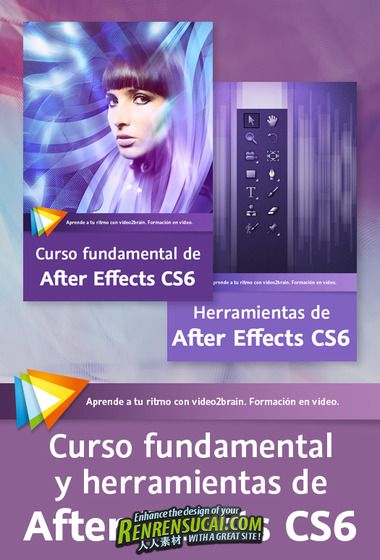 《AE CS6基础工具技巧教程》video2brain Foundations and Tools for After Effects CS6 Spanish