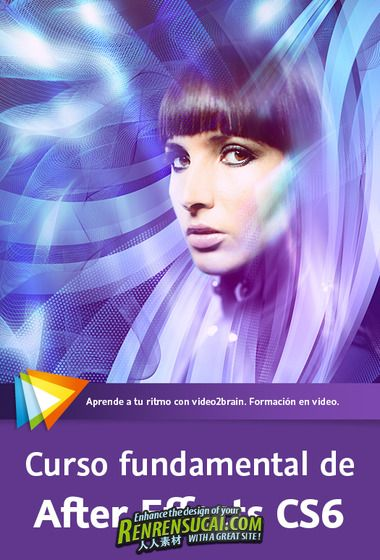 《AE CS6全面应用教程》video2brain Foundations of After Effects CS6 Spanish