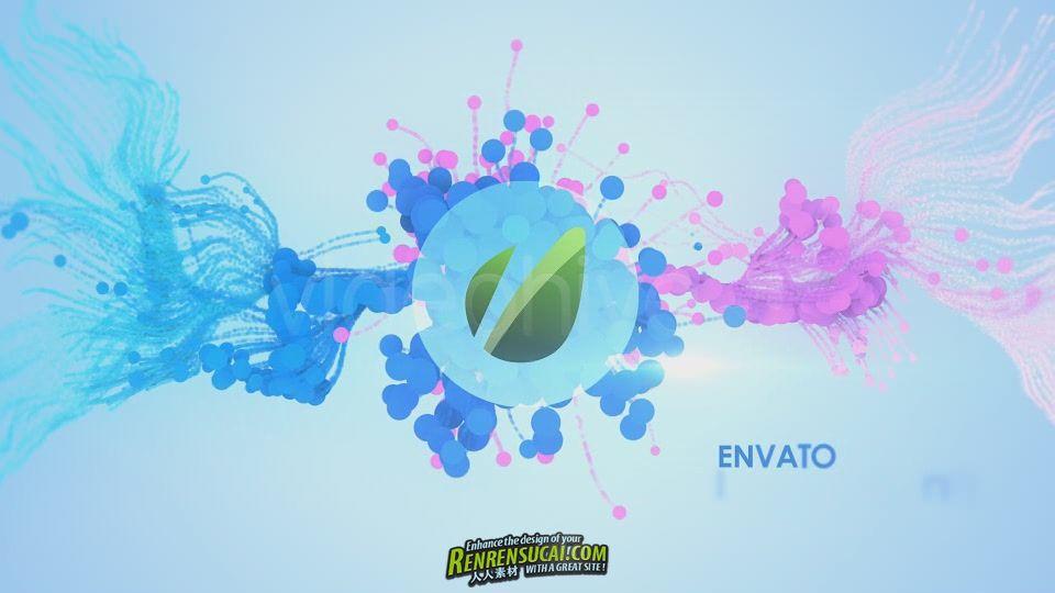 《高端粒子Logo AE模板》Videohive In Particles 2092596 After Effects Project