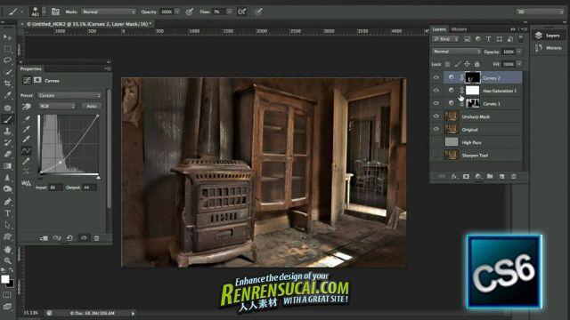 《Photoshop CS6之HDR图像教程》KelbyTraining Photoshop CS6 HDR