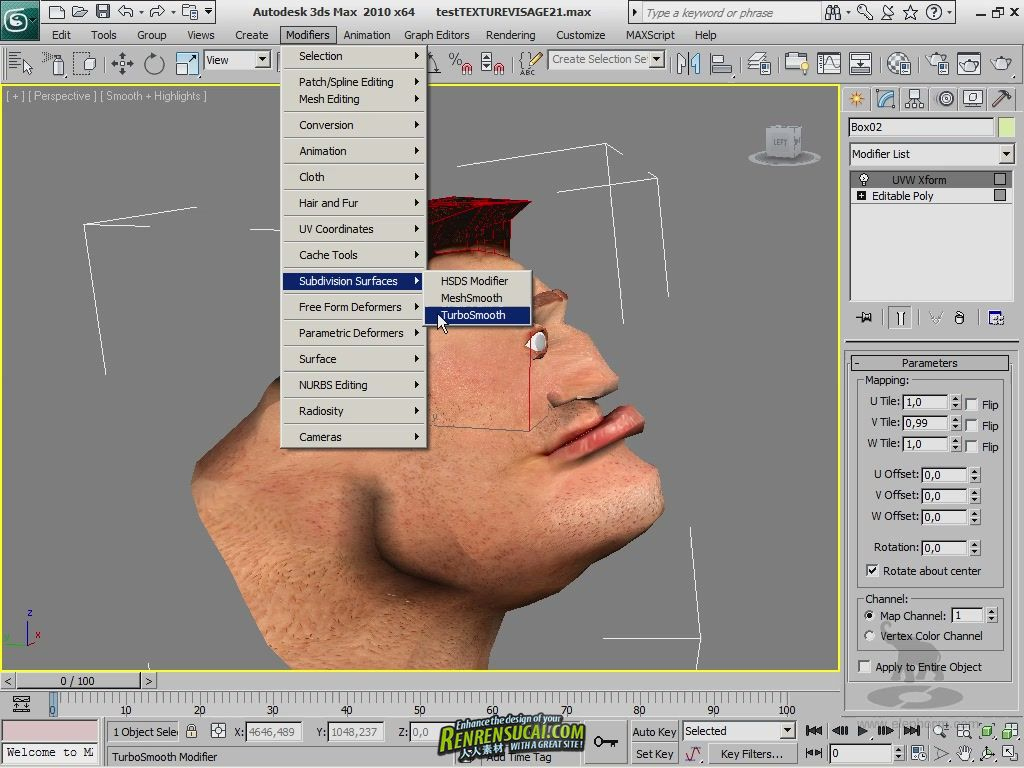 《3dsMax纹理与UVW教程》Elephorm Learning 3ds Max UVW Textures & Development Vol 4