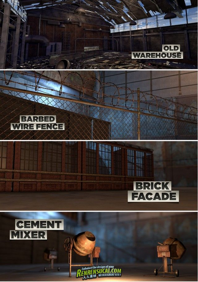 《Cinema4D工业设计资料包Vol.2》The Pixel Lab Industrial Pack 2 For Cinema4D