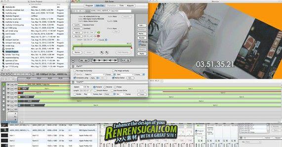 《媒体制作软件》Borisfx Media 100 Suite v2.1 MacOSX X-FORCE