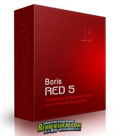 《合成字幕特效软件》Borisfx Boris RED v5.1.5 Win64/MacOSX X-FORCE