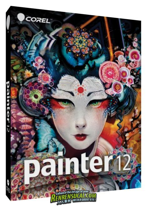 《电脑美术绘画软件》Corel Painter 12.2.0.70