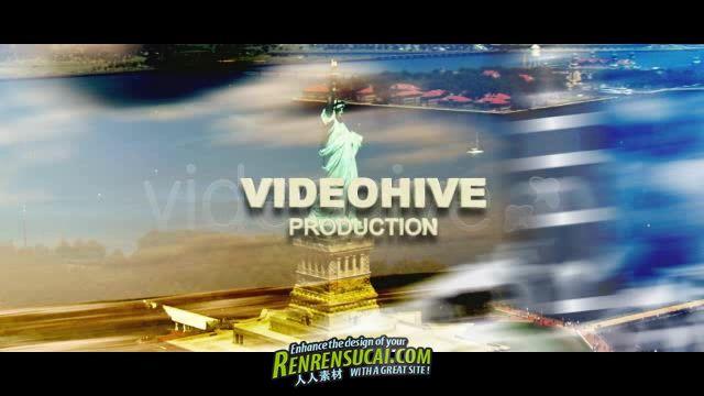 《疯狂世界 AE模板》VideoHive Crazy World 884308