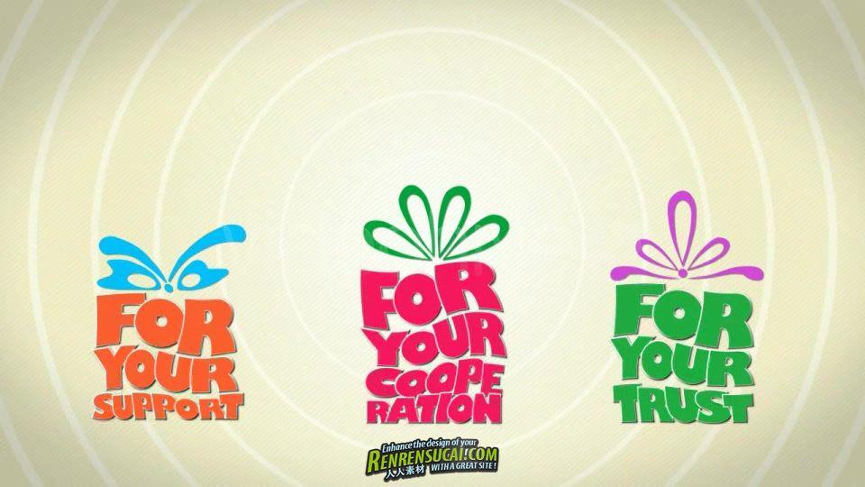 《卡通捣蛋球圣诞版 AE模板》VideoHive Troubleballs 3 Christmas Edition 651650