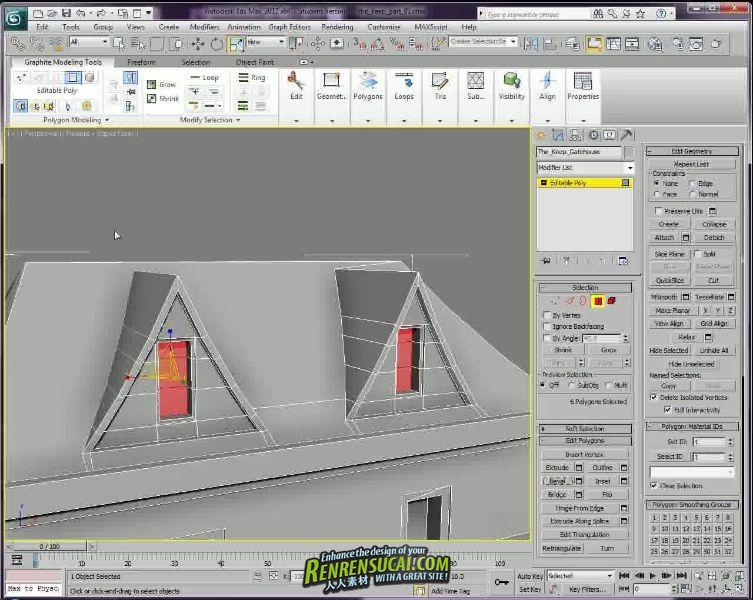 《3dsMax模块化城堡建模视频教程》3D-Palace 3ds Max Modular Creation of Castles