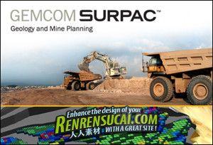 《大型矿山工程软件》Gemcom Surpac 6.3