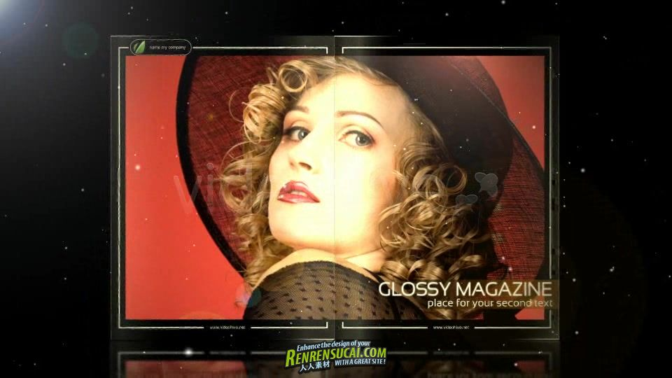 《时尚杂志 AE模板》VideoHive Glossy Magazine 263066