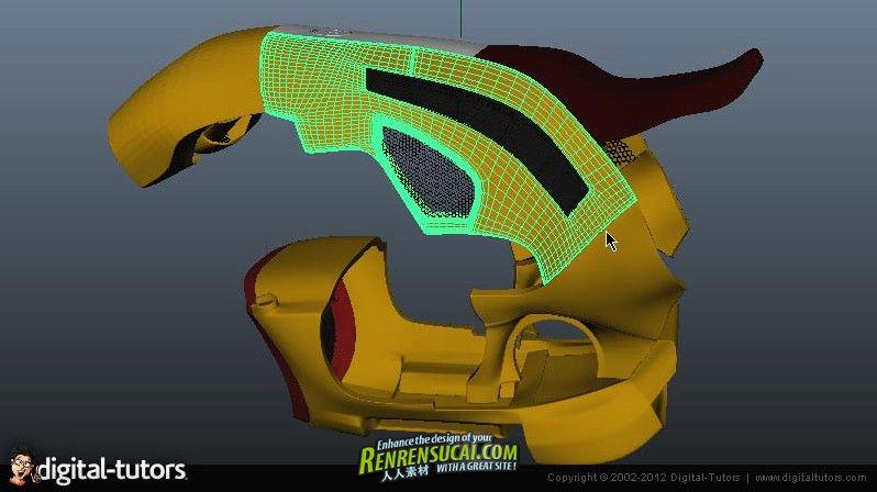 《Maya与Maxwell Render渲染贴图视频教程》Digital-Tutors Creative Development Automotive Texturing and Rendering in Maya and Maxwell Render