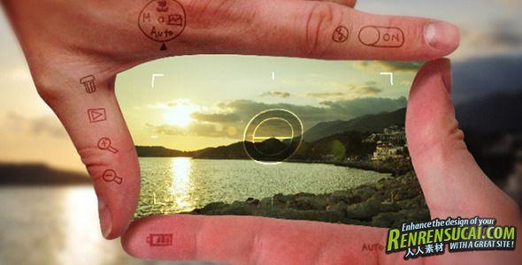 《完美视频框架 AE模板》videohive perfect frame 2675857